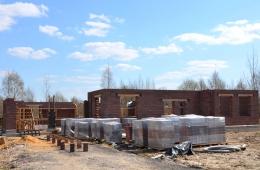 Ход строительных работ. Май 2012 г.