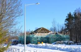 Ход строительных работ. Март 2012г.