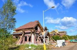 Ход строительных работ. Сентябрь 2012 г.