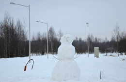Зима в