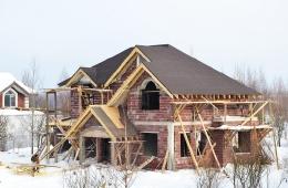 Ход строительных работ. Февраль 2013 г.