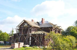 Ход строительных работ Август 2012 г.