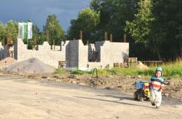 Ход строительных работ. Август - Сентябрь 2011 г.